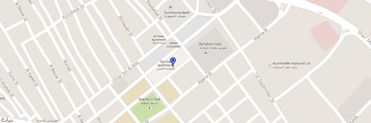 OEA Benghazi map