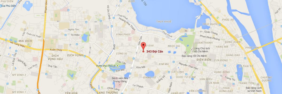 OEA Hanoi map